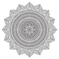 So'Ham Yoga Mandala Ornament II