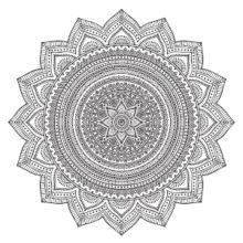 So'Ham Yoga Mandala Ornament II